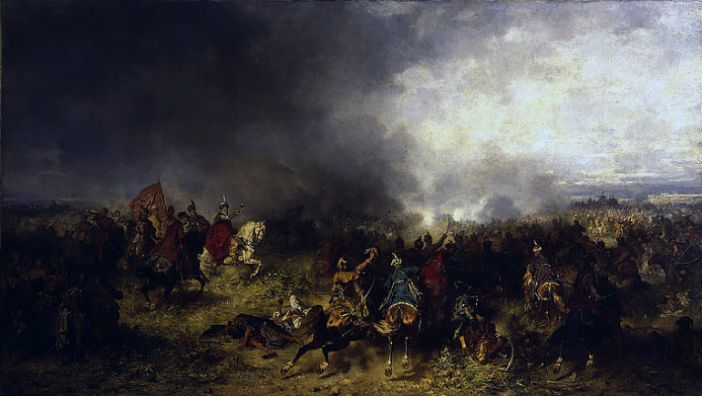 Józef Brandt, Battle of Chocim (Khotyn), source: National Museum in Warsaw; source: CC BY-SA 3.0 / Wikimedia