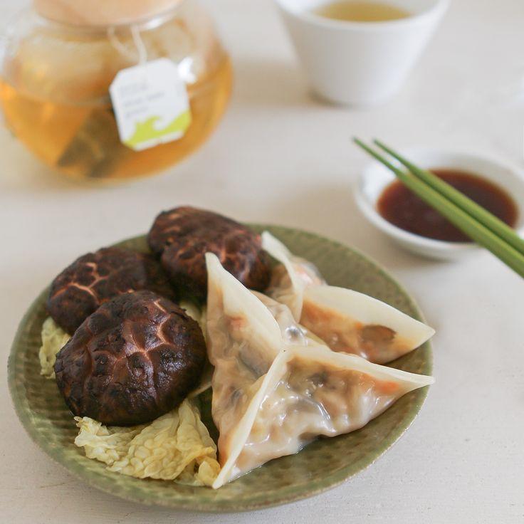 Dim Sum Recipe #7: Shiitake & Napa Cabbage Dumplings ...