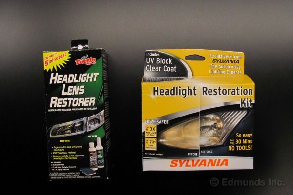 Edmunds' How To: Clear Foggy Headlights - Kits That Make Your Headlights Sparkle