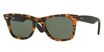 Ray Ban Wayfarer Sunglasses RB 2140 1157 Spotted Black Havana