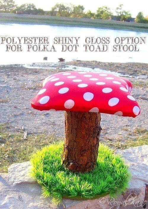 how to make a mushroom stool