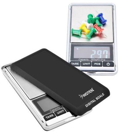 Insten 300g x 0.01g Mini Digital Jewelry Pocket GRAM Scale with ...