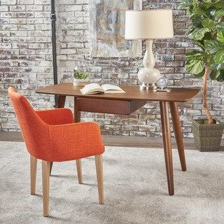 Shop for Kiersten Wood Study Table Desk with Overlay by Christopher Knight Home. Get free shipping at Overstock.com - Your Online Furniture Outlet Store! Get 5% in rewards with Club O! - 23006005