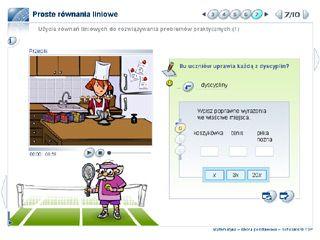 Użycie równań liniowych do rozwiązywania problemów praktycznych (1)