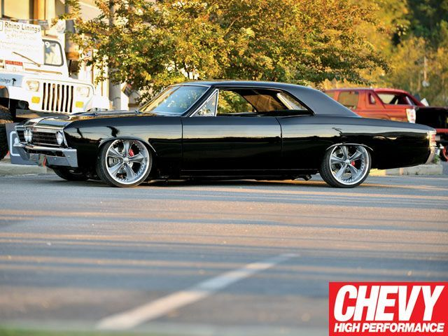 1967 Chevelle. Not much of a Chevy guy but this is a sweet classic.