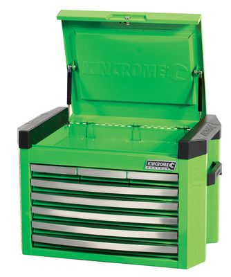 Kincrome Contour 8 Drawer Tool Chest - Green, Blue, Orange or Red. #K7748 | Just Tools Australia | Tool Specialist in Power & Cordless Tools, Hand & Air Tools