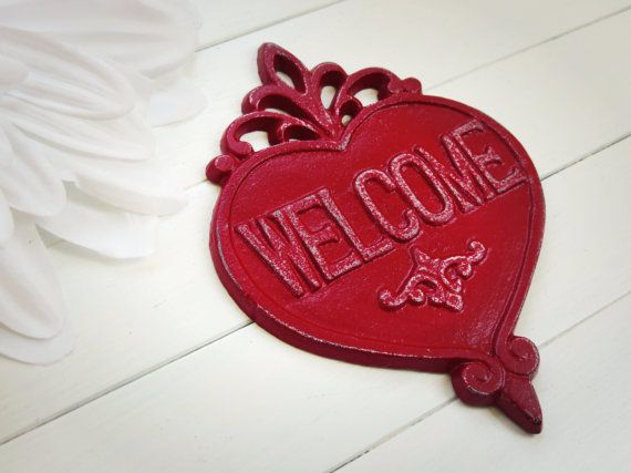 Welcome Sign / Welcome Home Decor / Welcome  / by WillowsGrace