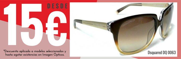 ¡¡Aprovecha nuestra oferta INCREÍBLE!!  Gafas de sol de primeras marcas (Versace, Prada, Calvin Klein, Dsquared, Italia Independent y muchas más) desde 15€.  Aquí os dejamos algunos modelos de promoción, pero en Imagen Opticos tenemos muchos más. Si te interesa alguno, ¡ven a echar un vistazo!  #Moda #Madrid #GafasDeSol