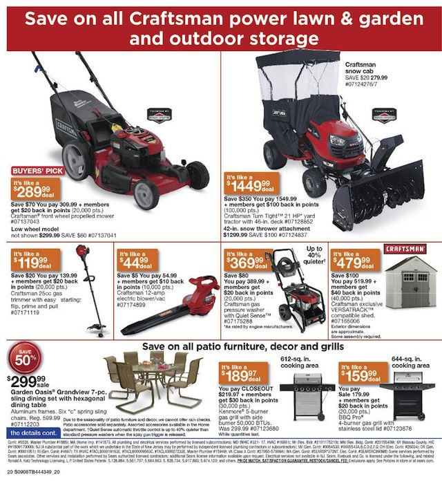 sears father's day sale 2017