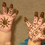 Easy Mehndi Designs For Kids On Eid