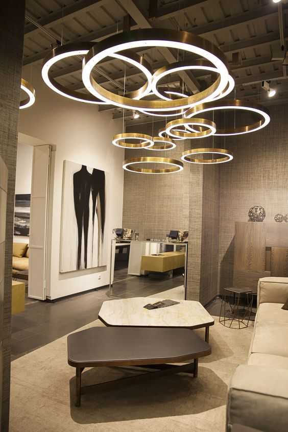 30 Circular Ceiling Lights BEST OF PINTEREST Showroom DesignInterior
