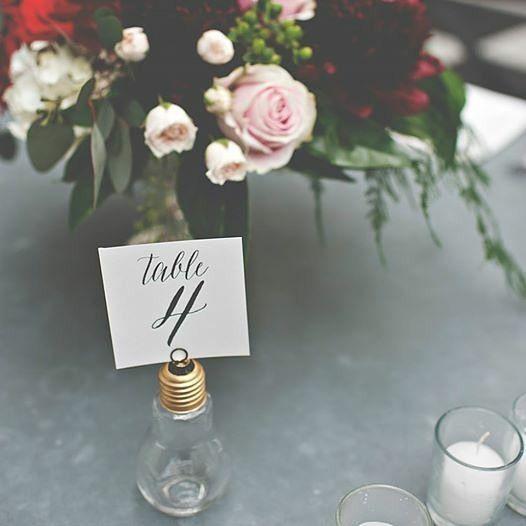 インスタで見つけた!お洒落かわいい海外風テーブルナンバーのアイディア集♡にて紹介している画像