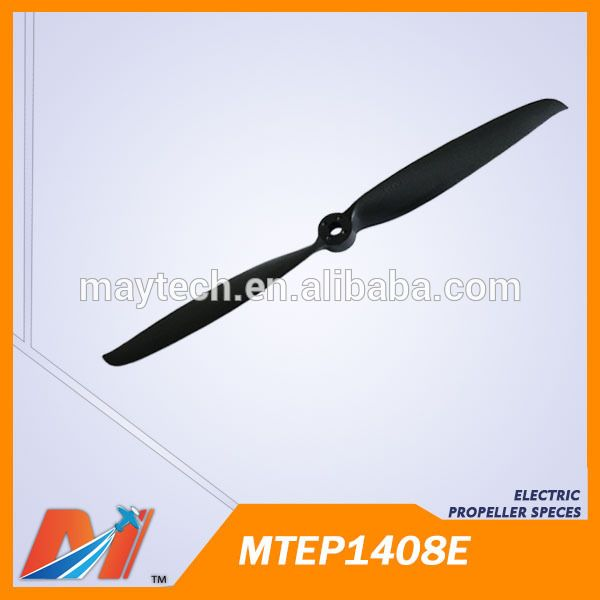 Maytech uav airplane latest Plastic Propeller 14x8inch for radio controlled plane wholesale toy parts