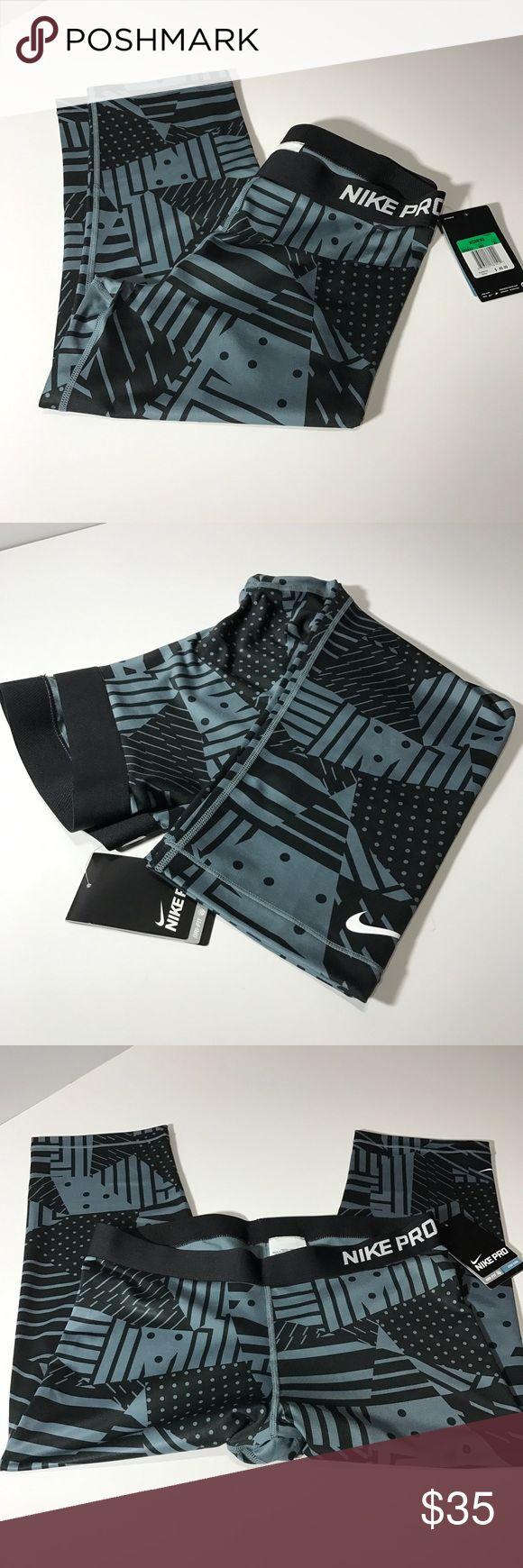 Nike Pro printed capri leggings New Nike Pants Capris