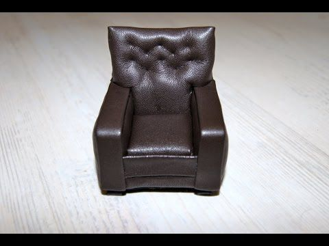 how to miniature upholstered chair