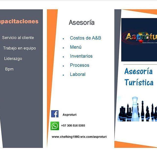 Somos una empresa que brinda asesoría y capacitaciones a hoteles y restaurantes  costos de alimentos y bebidas,asesoría laboral y servicio al cliente. #hoteles #asesorias #restaurante #catering #hotels #hotel #colombia