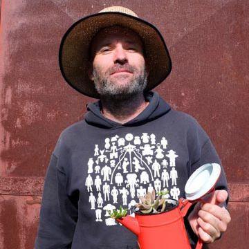 Gerard the Gardener. Omeo, Easter 2014.