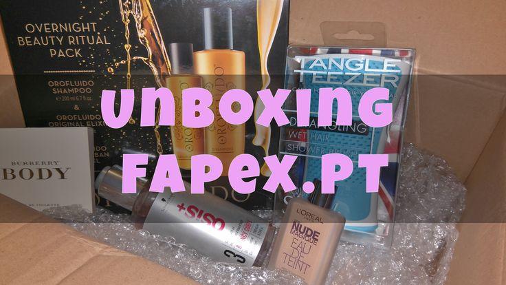 Unboxing Fapex.pt | Serviços Secretos Femininos