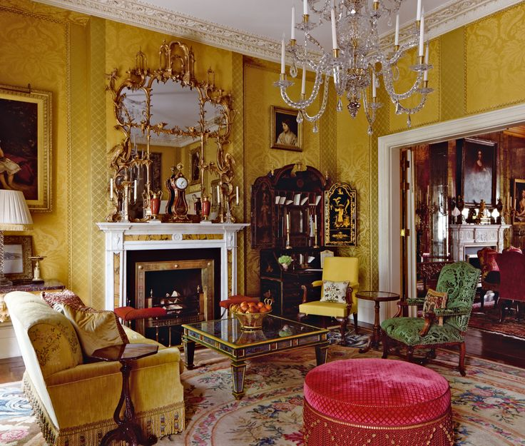 The Drawing Room In A London Town House Designed By Alidad Which Was Featured