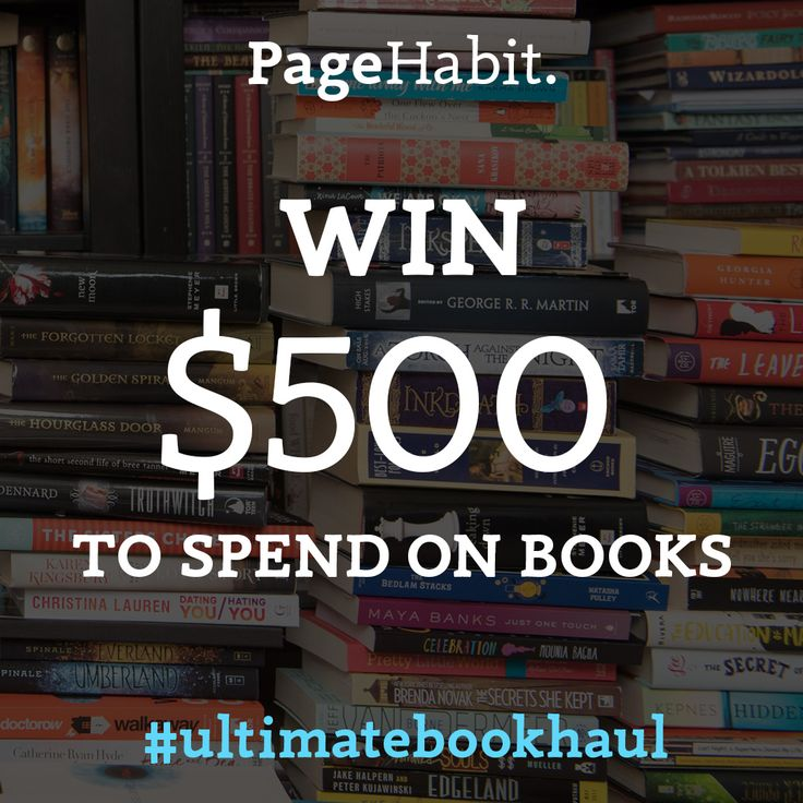 WIN THE  ULTIMATE BOOK HAUL! Sigh up for this amazing giveaway! There's no time to waist!