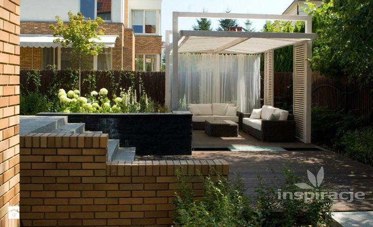 Taras styl nowoczesny studio projektowe inspiracje taras balkon terrace balcony - Balkon arbor ...