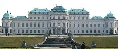 Johann Lucas Von Hildebrandt. Oberes Belvedere. Vienna.