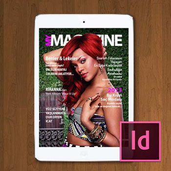 Grafik Tasarım, DPS ile Dijital Dergi Tasarımı video eğitimi, video dersler ile öğren