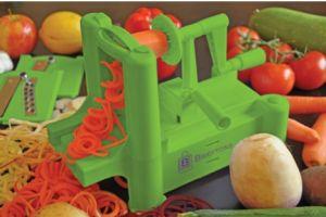 Tri-blade Spiralizer - make veggies fun for everyone!