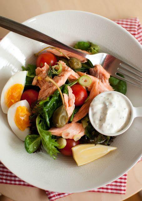 Scandi Home Smoked Trout Salad