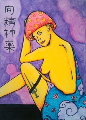 """向精神薬 """"Only the truth of who you are, if realized, will set you free."""" – Eckhart Tolle https://soundcloud.com/purrple_…/purrple-smoke-... https://www.facebook.com/HallucinogeniusVMJP https://twitter.com/shelly_love13 hallucinogeniusvmjp.tumblr.com https://instagram.com/hallucinogeniusvmjp/ http://hallucinogeniusvmjp.deviantart.com/ http://shellylove13.wix.com/hallucinogenius #japan #japanese #art #kanji #lady #geisha #mushroom #hallucinogenius #hallucinogeniusvmjp #kimono #nude #kitara"""