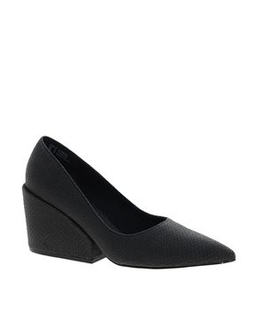 Enlarge Cheap Monday Cube Heeled Shoes - http://www.asos.com