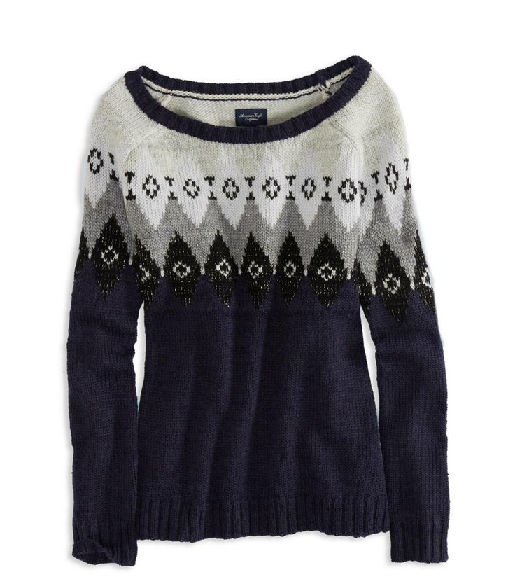 Warm cozy sweater for the winter season.
