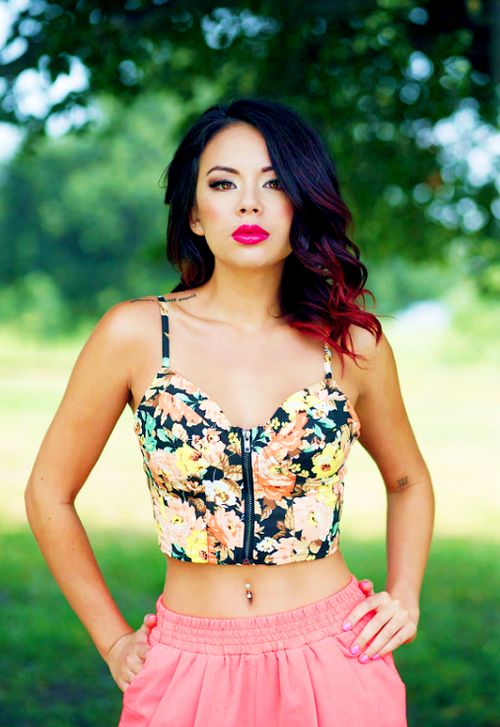 janel parrish love the placement