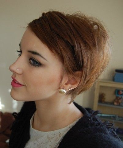 34. #Business in the Front... - 50 #Adorable Short Haircuts ... → Hair #Haircuts