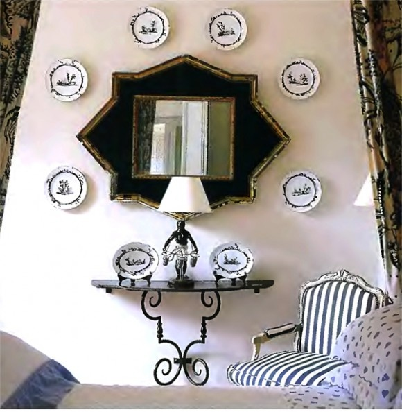 Wall Decor Around Mirror : Best images about walls plates on plate