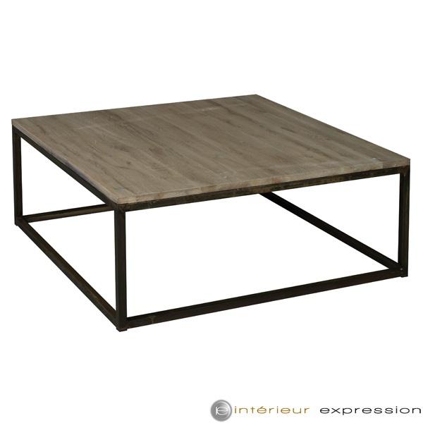 """""""Ulka"""" table , Wood and Iron"""