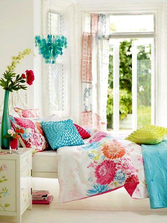 красочные спальни, в которых живет настроение