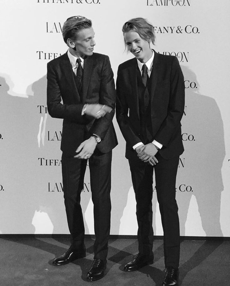 Jamie Campbell Bower and his brother Samuel Bower