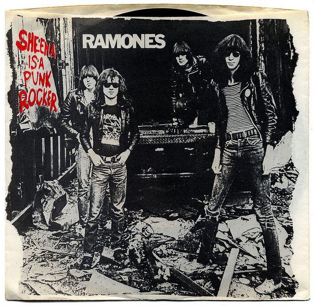 Sheena Is a Punk Rocker b/w I Don't Care.  Ramones, Sire Records/USA (1977)