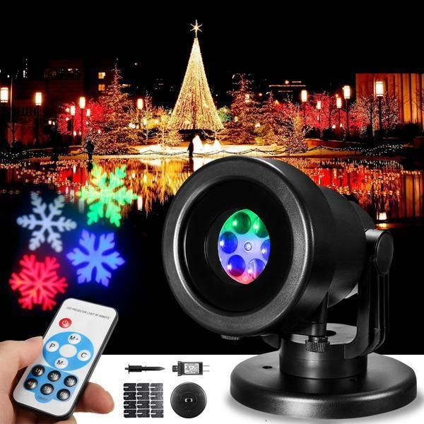 12 Patterns LED Remote RGB Laser Stage Light Festival Party DJ Disco Christmas P  | eBay