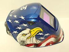 Miller Welding Helmet  America's Eagle Performance 232036 Auto Darkening