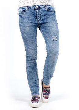 Açık Mavi SlimFit Yeni Sezon Erkek Kot Pantolon