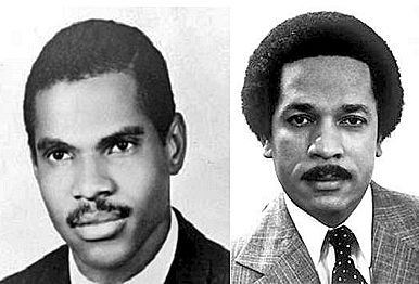 "Max Robinson (right) was the 1st African American network TV news anchor in the history of American television. The story of how the lives of Reginald F. Lewis and Max Robinson came together, as young men, is revealed on page 140 of ""Reginald F. Lewis Before TLC Beatrice: http://www.amazon.com/Lin-Hart/e/B00A15DISU/?ref=ntt_dp_epwbk_0 Apple: http://www.apple.com/apps/ibooks/"