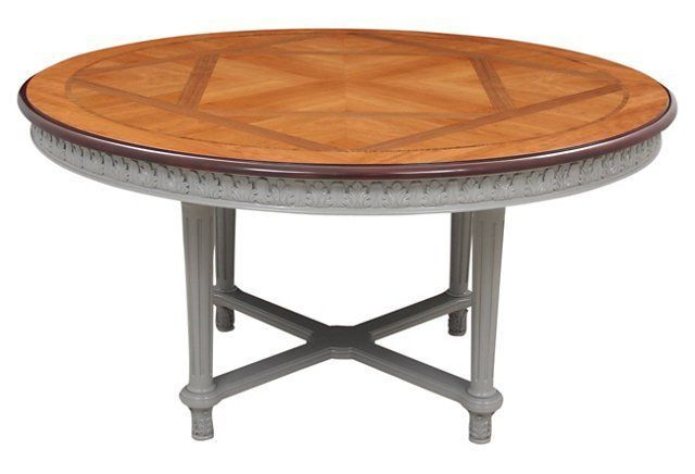 French-Style Round Dining Table