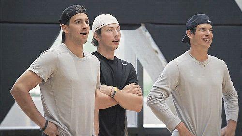 John Tavares, Matt Duchene, and Sidney Crosby GIF: not much happens. But it`s all we`ve got.