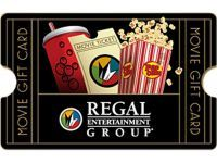 $25 Regal Cinemas Gift Card ONLY $20