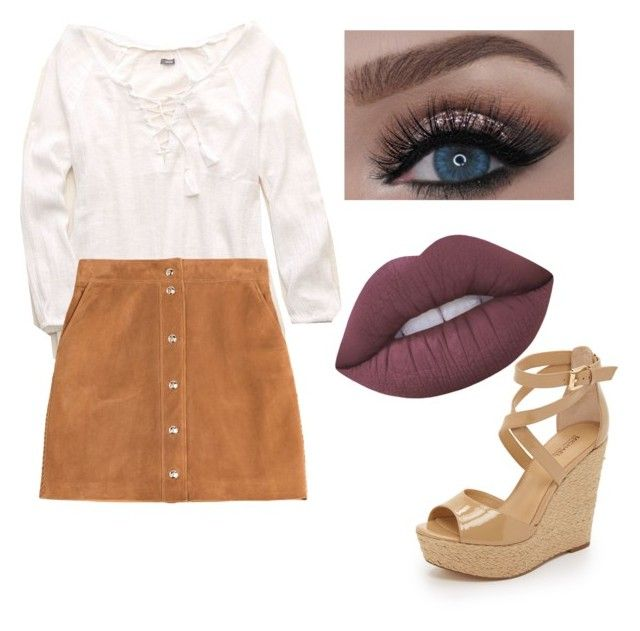 """""""One favourite outfit"""" by tingram871 on Polyvore featuring Aerie, Emilio Pucci, MICHAEL Michael Kors and Lime Crime"""