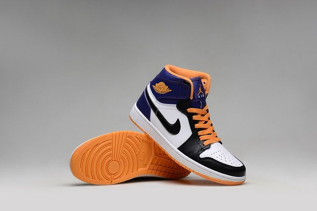 3ac098822d60 official store new air jordan 1 mid suns black white blue hot lava discount  sale 031b1