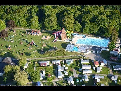 Camping l'Hirondelle au coeur des Ardennes Belges - YouTube