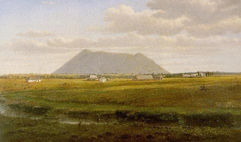 Larra Homestead de Eugene Von Guerard (1811-1901, Austria)